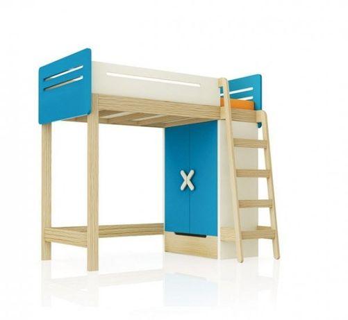 Łóżko piętrowe z szafą firmy Simple Timoore