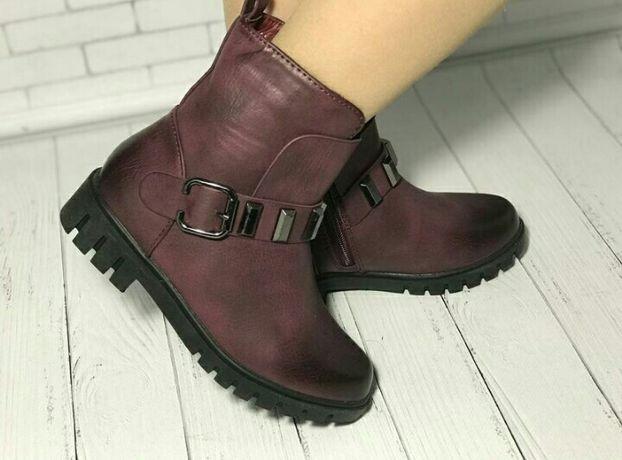 Ботинки ботиночки демисезон для девочки деми осень весна