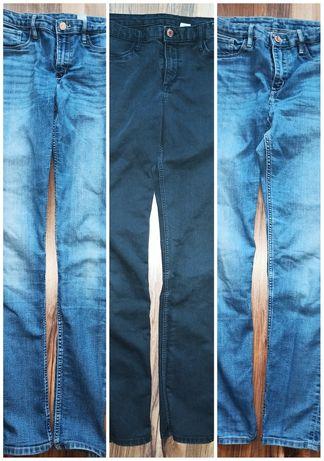 3 pary spodni jeans