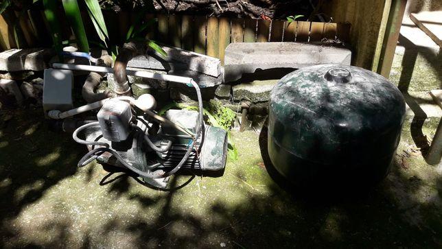 Motor eletrico com balao