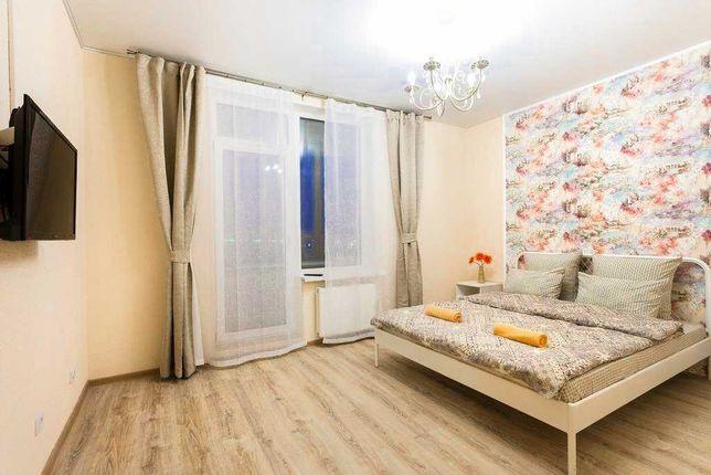 Уютная 1к квартира м. Левобережная, Дарница, МВЦ, ТЦ Комод