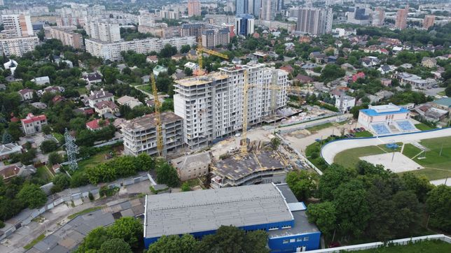 ЖК Авіаційна - продаж 2-кім. кв. 73 м2 в новобудові у Центрі