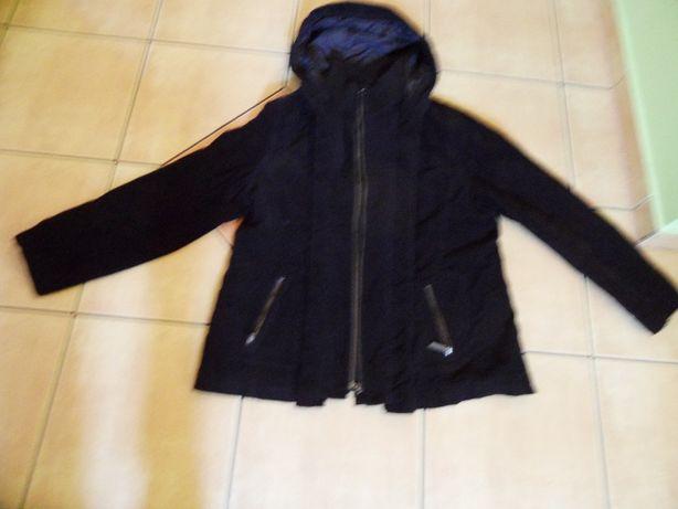 Fajna kurtka ze sztruksu ocieplana z kieszeniami rozmiar XL