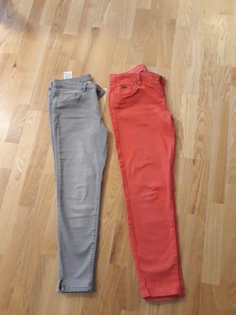 spodnie jeansy orsay rurki 40