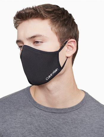 Маска Calvin Klein Logo Stretch Face Mask Оригинал Кельвин Кляйн США