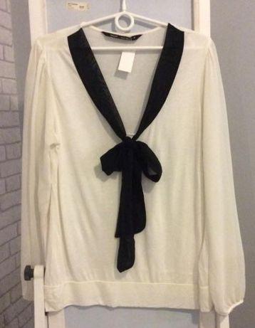 Elegancka bluzka z kokarda