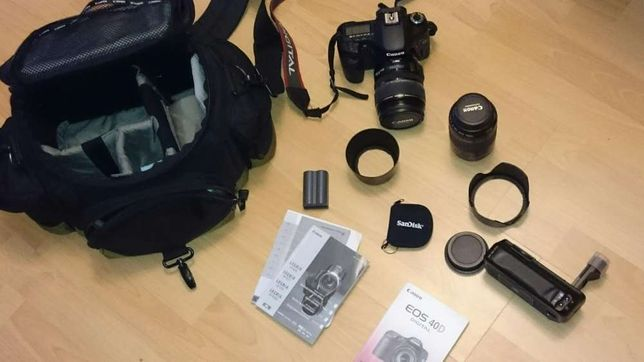 Canon D 40 zestaw