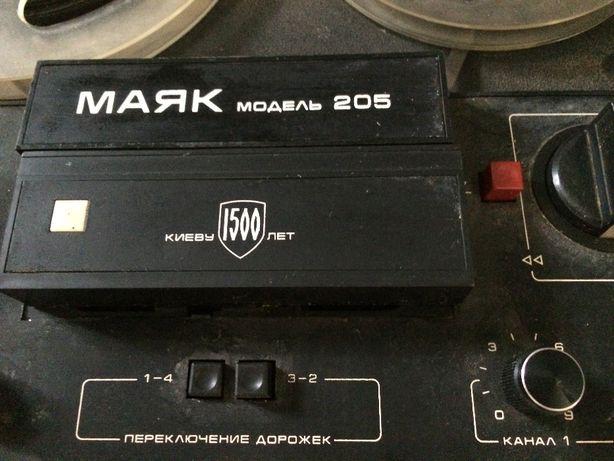 Магнитофон бобинный Маяк (Модель 205)