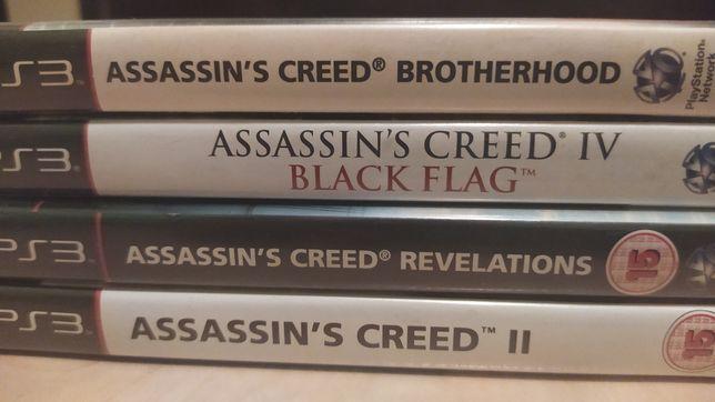 4 Gry serii Assassins Creed na konsole ps3 playstation 3