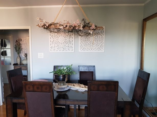 duzy stół Agata meble rozkładany i krzesła