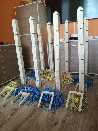 Weselna jenga zabawa budowa budowanie wieży wieża liderów integracyjna