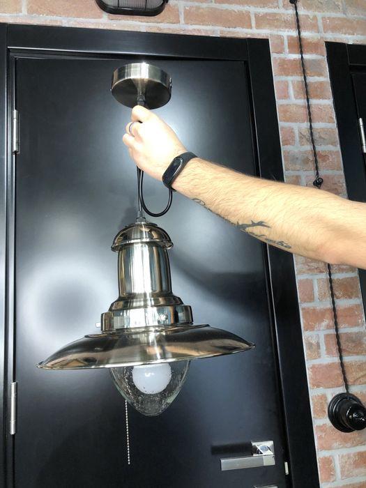 Лампа (светильник) металический идеально под лофт Ивано-Франковск - изображение 1