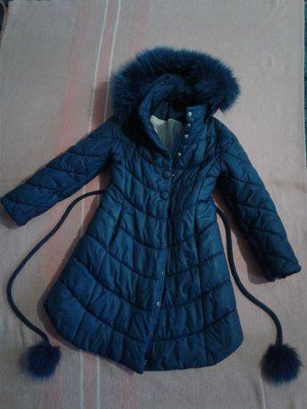Красивая зимняя куртка девочке