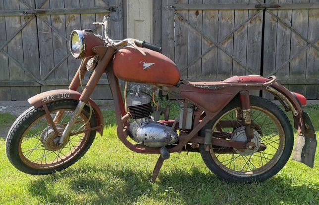 Motocykl WSK M06-64 z 1965r.