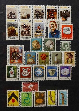 Znaczki pocztowe polskie kasowane 50 szt (zestaw 4)