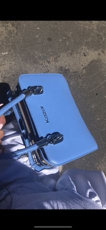 Nowa torebka damska kazar niebieska
