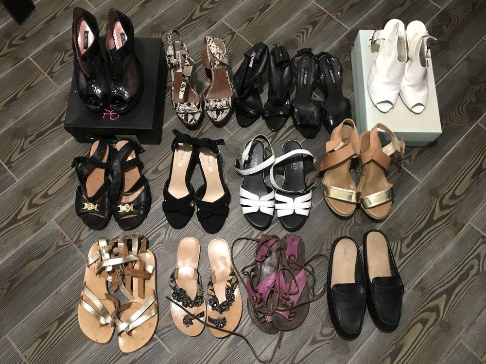 Летняя обувь, 36-37 р (9 пар обуви)