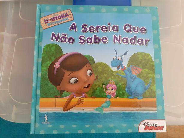 Livros infantis - Dra. brinquedos (Novos)
