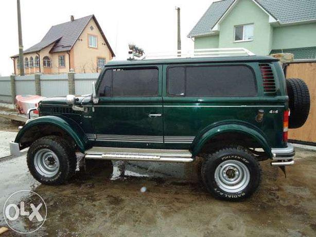 ГАЗ 69 тюнингованный