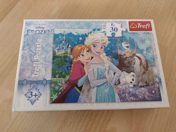Puzzle Frozen kompletne