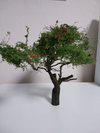 Drzewka na makietę- krzewy, nietypowe