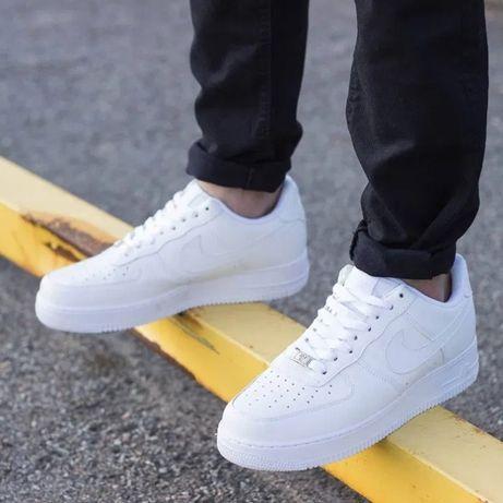 Кроссовки Nike air force 1 Мужские low White/Найк эйр форс