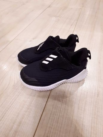 Buty adidas fortarun 23,5 czarne rzepy