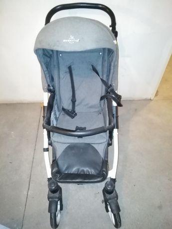 Wózek Bebetto Nico Spacerówka+ Gondola, 2 w 1 kolor szary