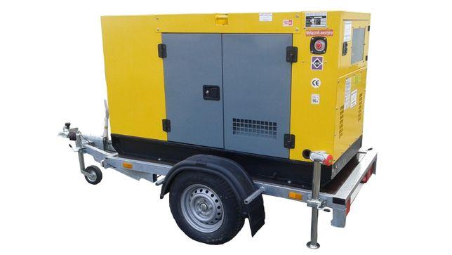 Agregat prądotwórczy 50kW wynajem