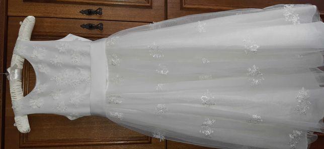 Sukienka na komunię, na wesele, wizytowa, na 9 lat.