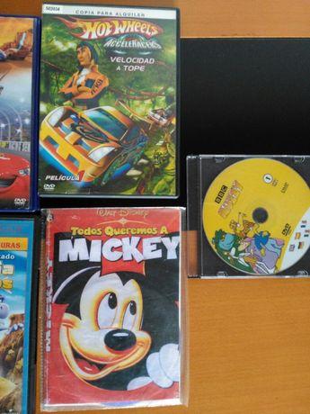 Dvd's desenhos animados