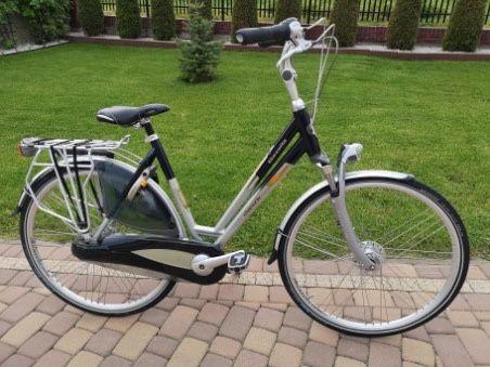 Rower damski miejski Gazelle Charmonix r.53 cm, piękna holenderka