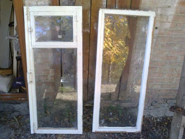 Продам рамы оконные со стеклом