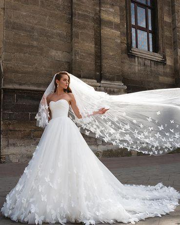 Продаю шикарное свадебное платье!!!Крутое!!!