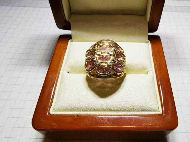 Złoty PIERŚCIONEK KOPUŁKA pr.750 18k rozmiar 15 |PLUS Lombard