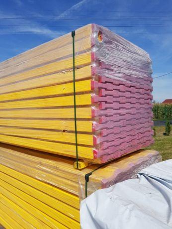Szalunki stropowe NOWE -zestaw 200m2, szalunki, dźwigary, stemple