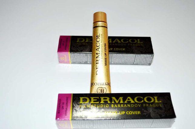 Крем Dermacol - Дермакол, легкая текстура. Тональный / маскировка /