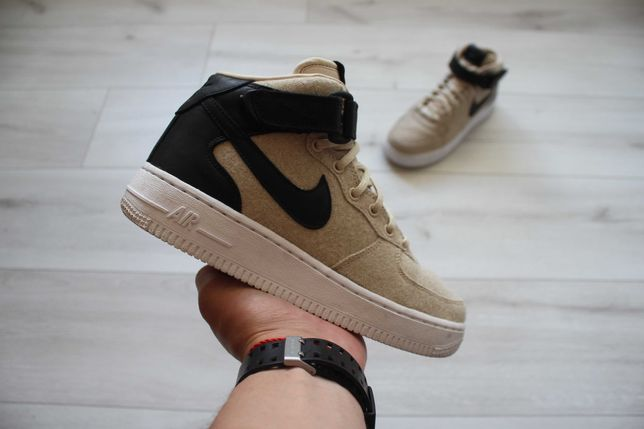 Кроссовки Nike Wmns Air Force 1 '07 Mid Leather Premium p37/ Adidas