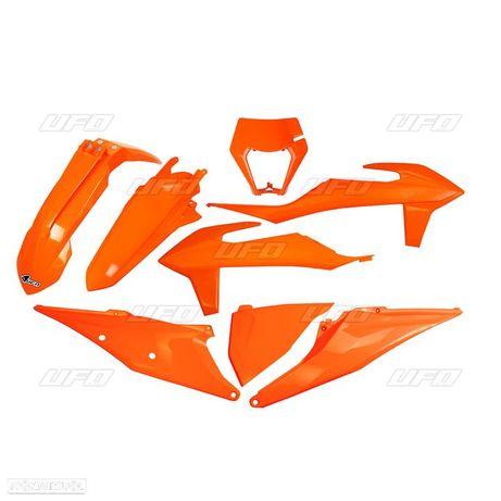 kit plasticos ufo laranja ktm exc-f 250 / 350 / 450