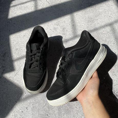 Черно-белые кроссовки Nike Air Force 37.5 размер 23.5 см jordan 1 dunk