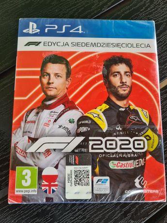 Gra F1 2020 PS4 Nowa .