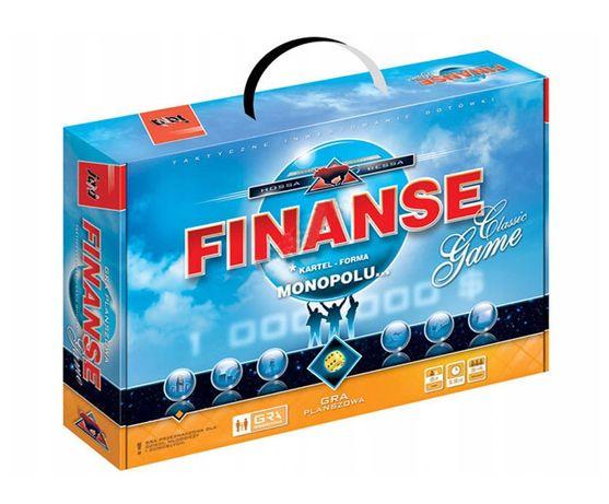 Rodzinna gra planszowa FINANSE forma monopolu