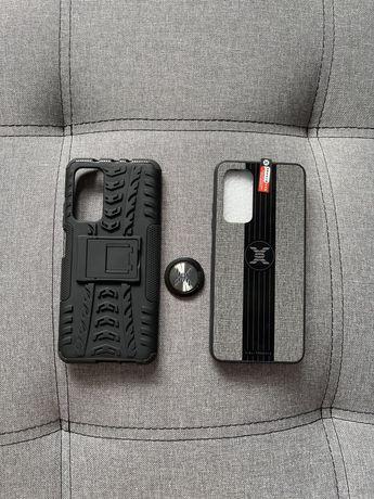 Чехол бампер с подставкой/ магнитным держателем для Xiaomi Mi 10t /pro
