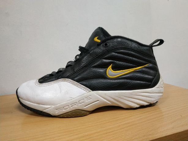 Ботинки 44-43 р/28 см Nike air force, кожанные кроссовки