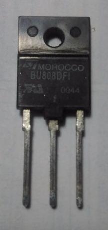 Транзистор BU808D высоковольтный дарлингтон (составной) ОРИГИНАЛ!