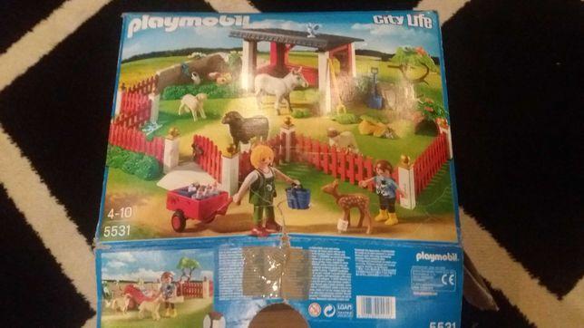 Playmobil 5531 Farma uzdrowisko dla zwierząt z wybiegiem agroturystyka