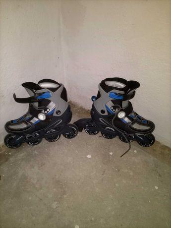 Vendo patins em linha da Toys'rus 32 extensível até ao 35