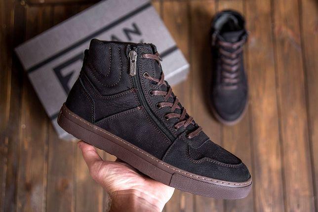 Мужские зимние ботинки, Зимние кроссовки. Мужская зимняя обувь на меху
