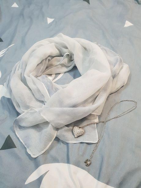 Marmurkowy szalik chusta