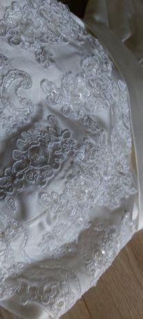 Krótka suknia ślubna 36-38